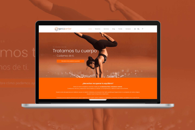 Diseño tienda online dietetica