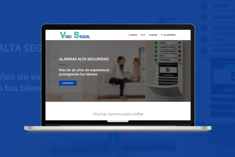 Diseño web alarmas