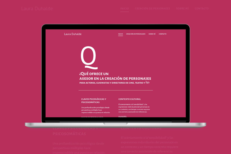 Diseño web asesora